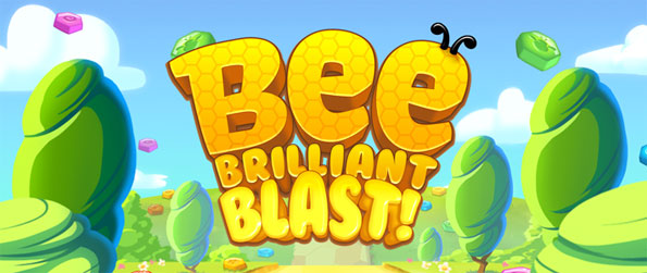 Bee Brilliant Blast - Get hooked on this exciting puzzle game in which you must match tiles in order to progress further.