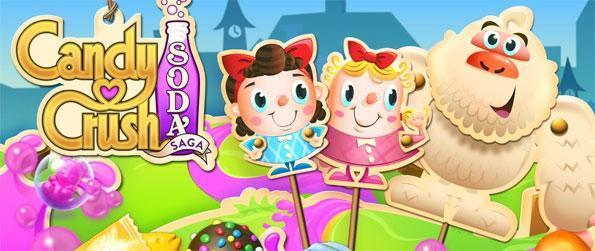 Candy Crush Soda Saga - Enjoy the latest twist on this hugely popular game, this new game is amazing, give it a try and see!