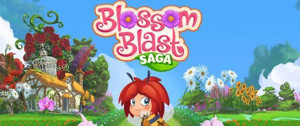Blossom Blast Saga - Get yourself a brand new casual game treat that pretty much reinvents the match-3 game experience altogether - and separates itself from the usual trend!