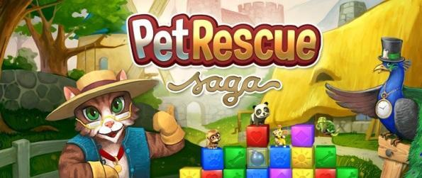 Pet Rescue Saga - A Fantastic Playable Fairy Tale - Animals and Wonders!