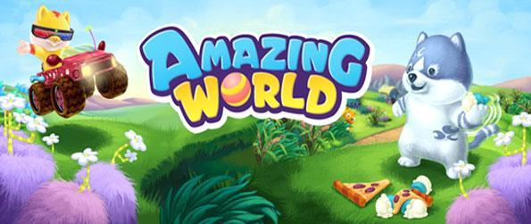 Amazing World - Save the world from the nasty Queen Vexa in this stunning children's game.