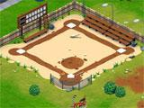 Peanuts: Snoopy's Town Tale baseball field