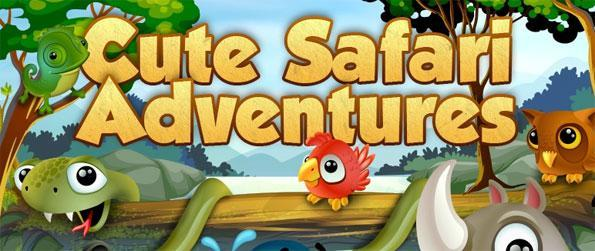 Cute Safari Adventures - Engage yourself in this fun filled match-3 game that's sure to impress.