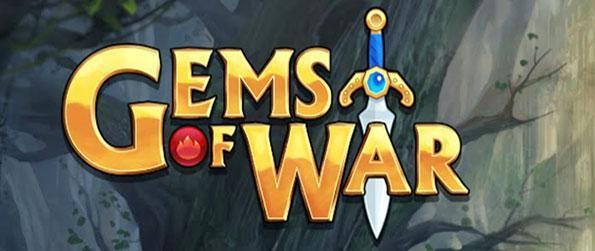Gems of War - Match up shiny gems and damage your enemies while enjoying a well written story line unified by the characters while you form a team of mixed humans and monsters to win every battle!