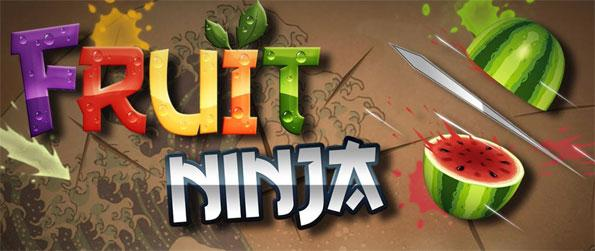 Fruit Ninja - Slice the fruits like a ninja and look out for bombs.