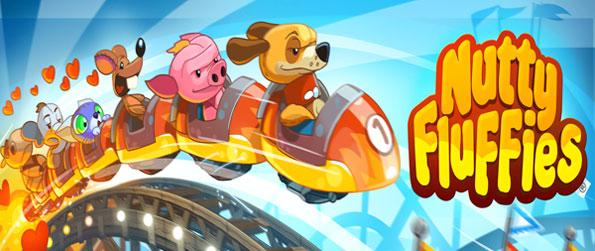 Nutty Fluffies Rollercoaster - Become a roller coaster conductor and take your fluffies out on a ride on the curviest tracks.