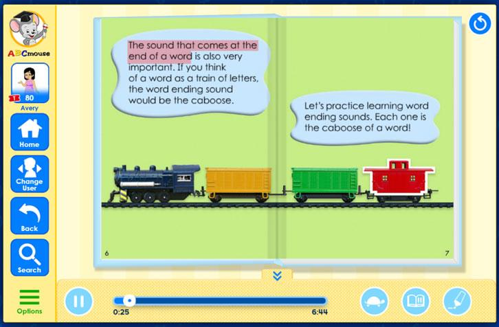 Word Ending Sounds in ABCmouse