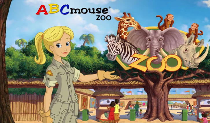 Visiting the virtual zoo in ABCmouse