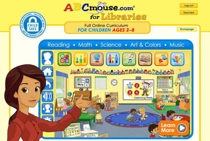 ABCmouse for Libraries: Bringing Quality Online Education to At-Risk Children
