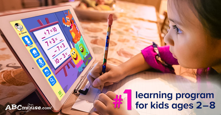 Supplement Your Child's Early Learning with ABCmouse