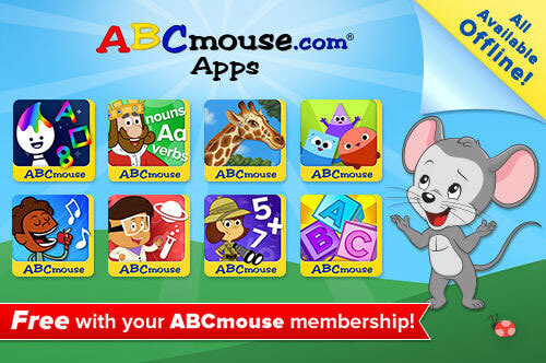 Learning on The Go with ABCmouse