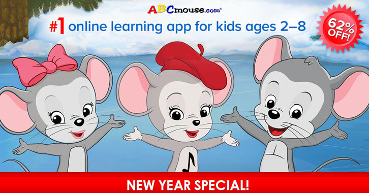 ABCmouse's New Year Special is Here!