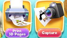 DreamWorks Color: 3D Print and Capture mode