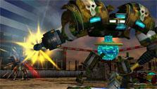 Gameplay in Code Warriors