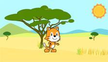 Scratch Jr: A walk through the savannah