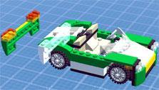 Building a car in Lego Creator Islands