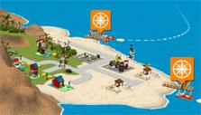 Lego Creator Islands: Island view
