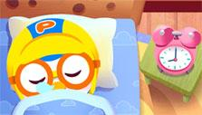 Pororo Habit Games: Waking up from bed