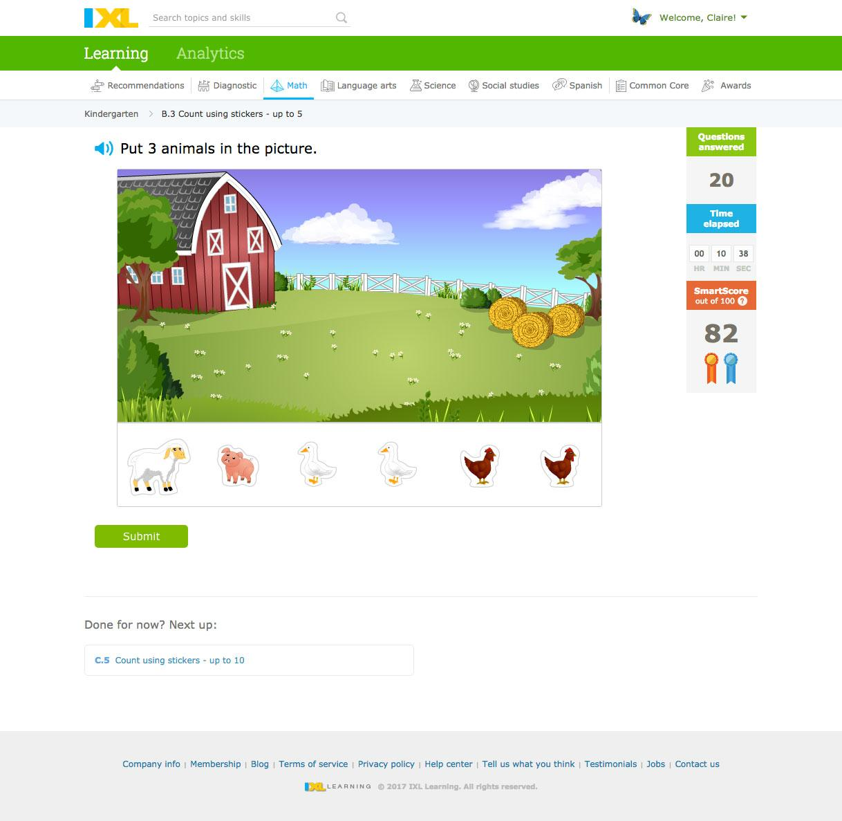 IXL - Games Educate Kids