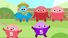 ABCmouse Mastering Math: Identifying numbers