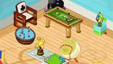 Games Room in Webkinz