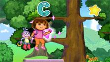 Dora's Alphabet Forest Adventure Game Collecting Letters