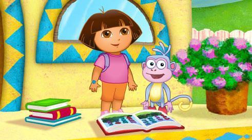 Dora's Alphabet Forest Adventure Game - Games Educate Kids