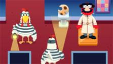 Chicken Game in Detective Elmo: The Cookie Case