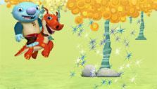 Sparkles in Wallykazam Magic Word Hunt