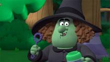 The Witch in Bubble Guppies Fairytale