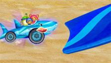 Jump in Shark Car Race