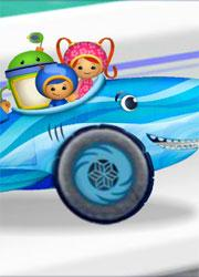 Shark Car Race