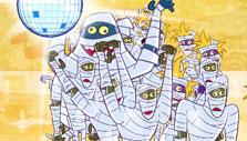 Mummy Museum Mayhem: Banish dancing mummies