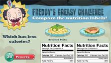Supermarket Mania: Comparing food labels