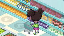 Shopping for Prof Fizzy in Supermarket Mania