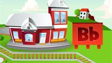Kids ABC Letter Trains: Building railways