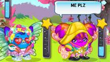 Dress-up game in Boonie Planet