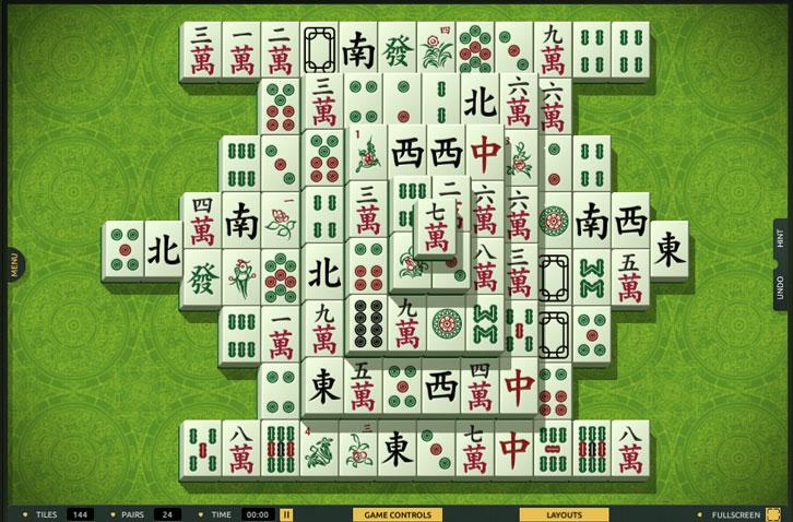 The Hulk Combo in TheMahjong.com