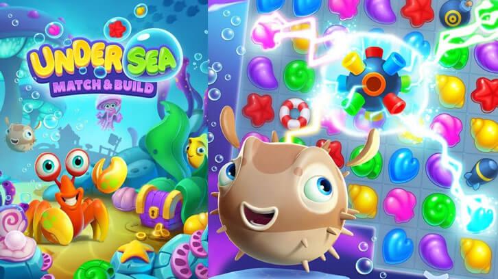 Number 3: Undersea: Match & Build