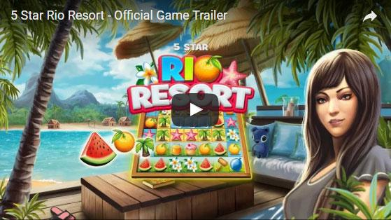 5 Star Rio Resort - Official Game Trailer