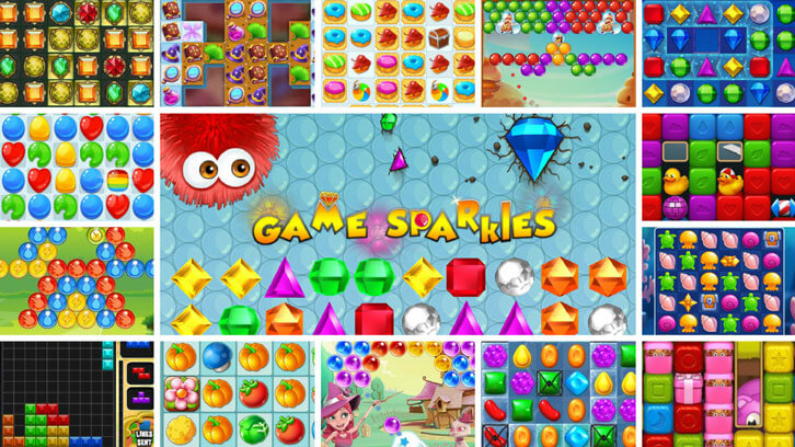 GameSparkles - All the Best Free Casual Games Under One Roof!