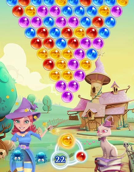 Enjoy Bubble Witch Saga 2