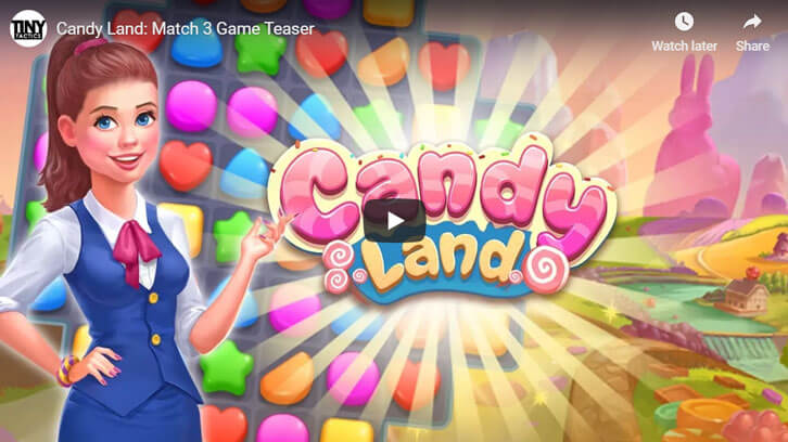 Candy Land: Match 3 Game Teaser