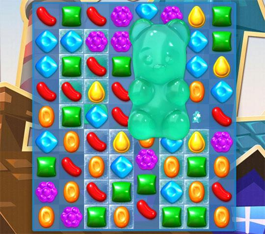 Rescue Gummy Bears in Candy Crush Soda Saga