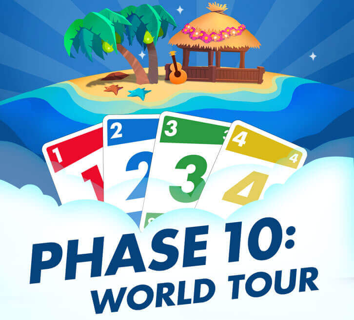 Phase 10: World Tour Launches Globally on Mobile and Facebook