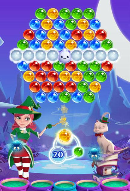 Ghost Level in Bubble Witch Saga 2