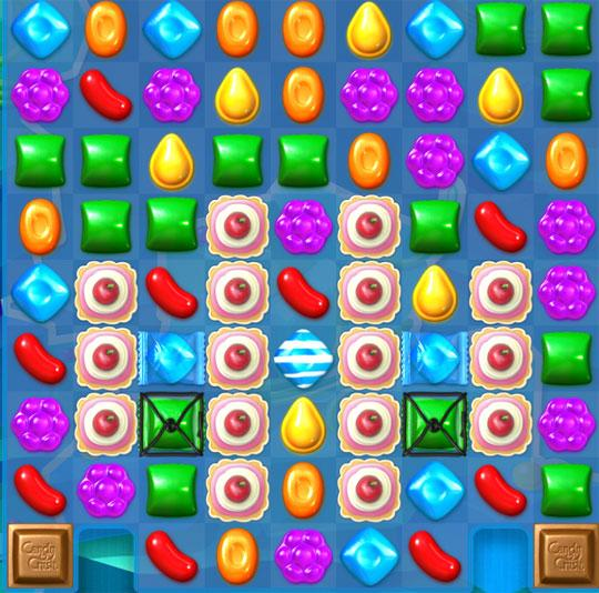 Cake Level in Candy Crush Soda Saga
