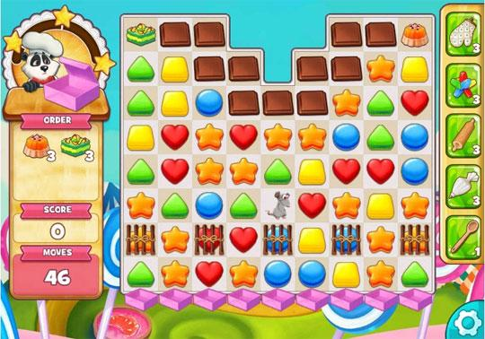 Fun Cake Level in Cookie Jam