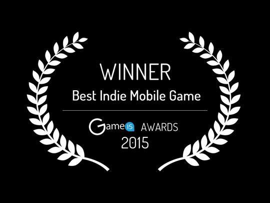 GameIS Best Indie Mobile Game Winner: Icy Run