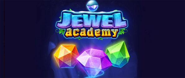 Jewel Academy - Enjoy matching 3 or more sparkly gems in this fun-filled match-3 game, Jewel Academy!